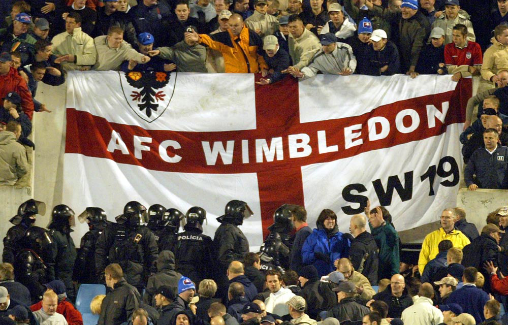 the romantic rebels fc united and afc wimbledon